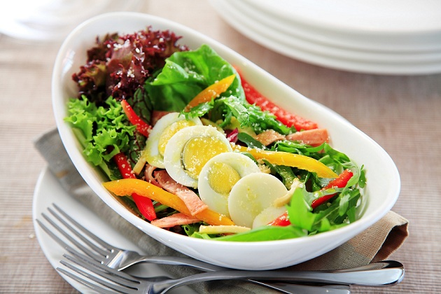 Resepi Sihat Salad Telur Rebus