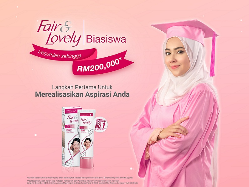 Biasiswa Fair & Lovely Berjumlah RM200,000 Untuk Mahasiswi