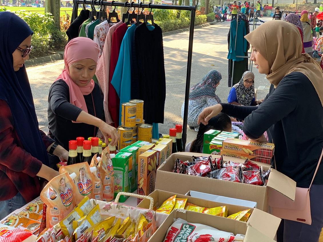 PROJEK CSR-DMR #darihati123mamanet KALI KE-5 DI ECO FREE MARKET SHAH ALAM, SEMPENA HARI BUMI 2019
