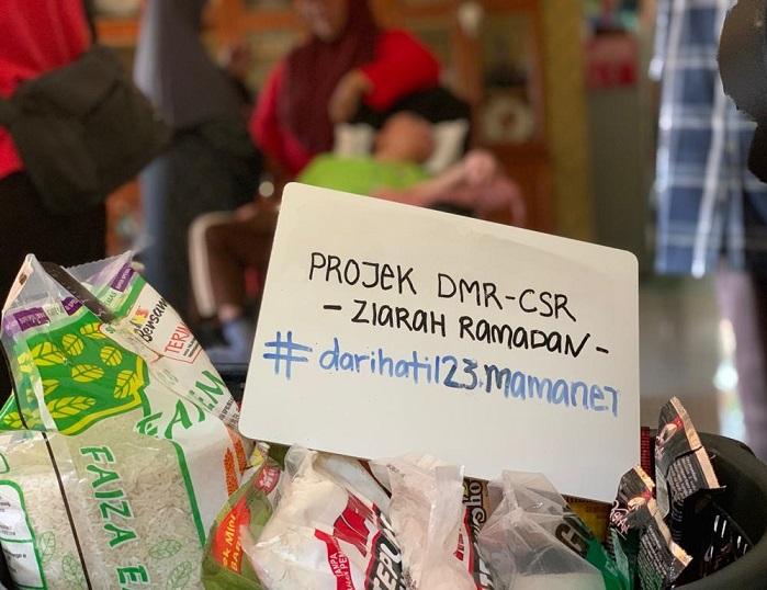 PROJEK DMR-CSR ZIARAH RAMADAN #DARIHATI123MAMANET BERSAMA MPP Zon 15 SHAH ALAM