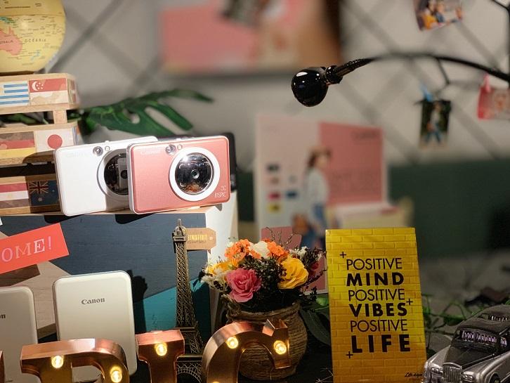 Kamera Pencetak Segera Canon
