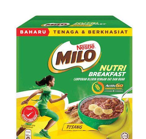 CUBALAH MILO® NUTRI BREAKFAST BAHARU  PENUH KEBAIKAN PEMACU SEMANGAT DI PAGI HARI
