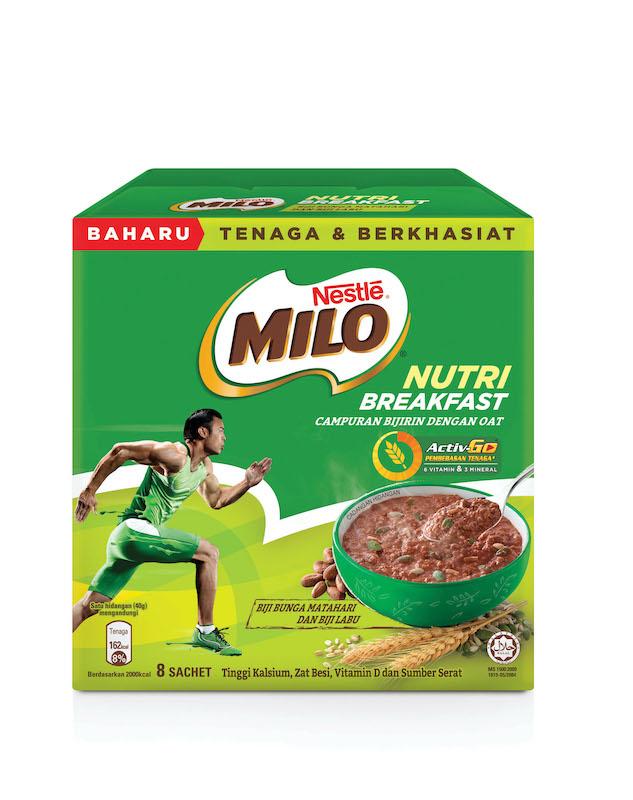 Milo Nutri Breakfast