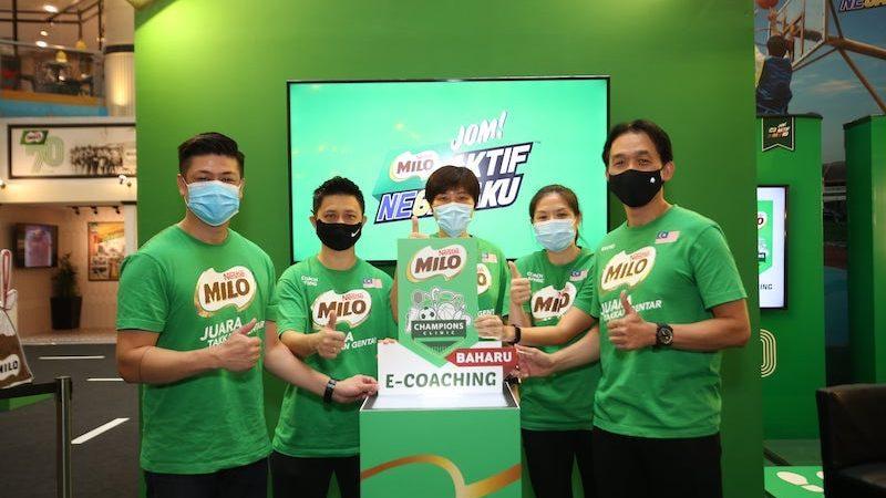 MILO® CHAMPIONS CLINIC: E-COACHING LEMBARAN BAHARU PEMBANGUNAN SUKAN AKAR UMBI MILO®