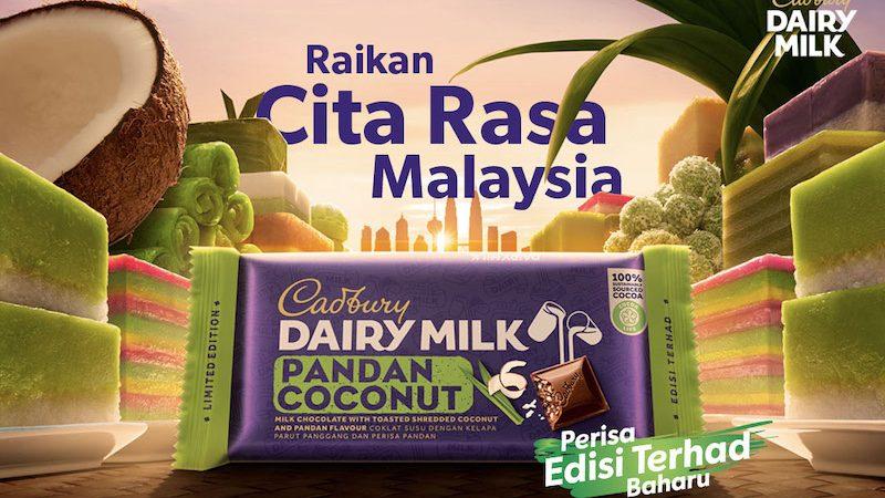 RAIKAN #MYCadburyFlavours DENGAN Cadbury DAIRY MILK PANDAN KELAPA BARU
